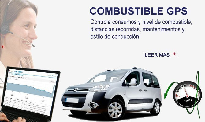 Combustible GPS